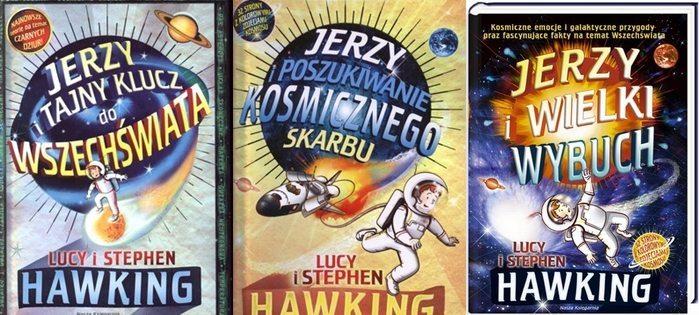 Lucy i Stephen Hawking przygody Jerzego