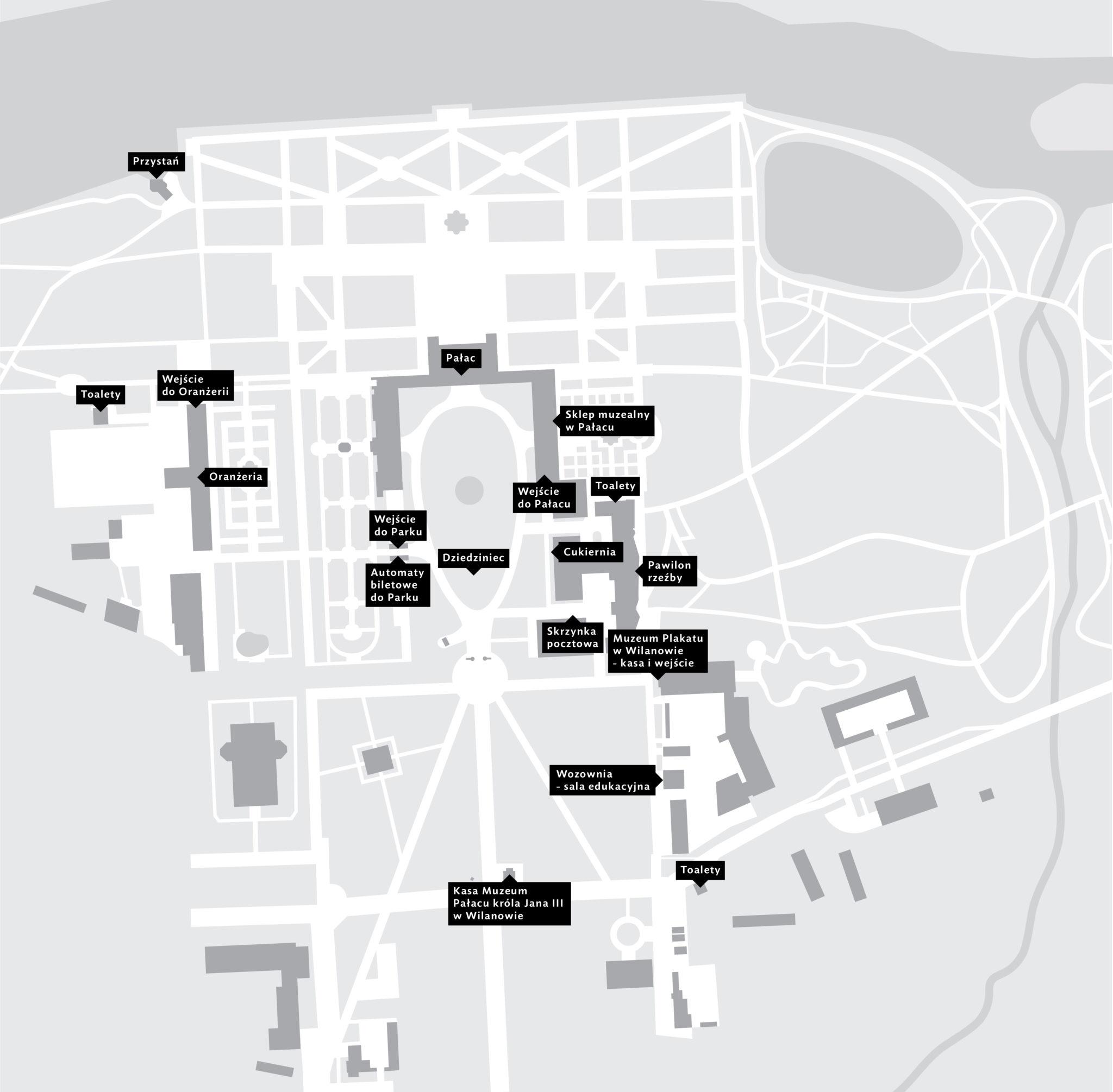 mapa kompleksu